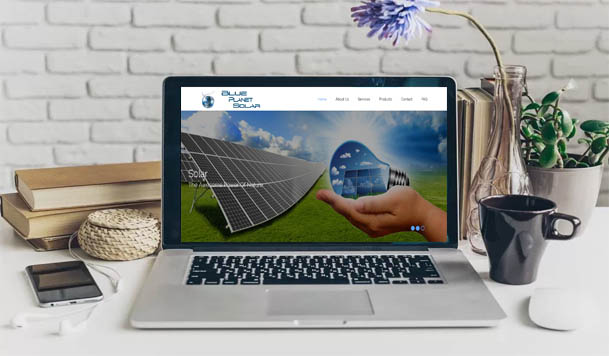 webdesign & development - BPsolar