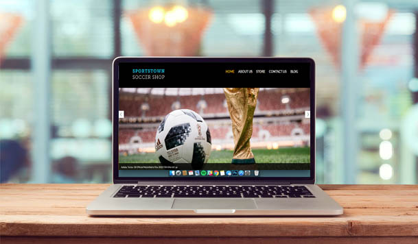 website design and development services - sportstownsoccershop