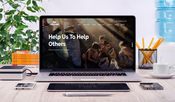 web design - Indiasewa NGO